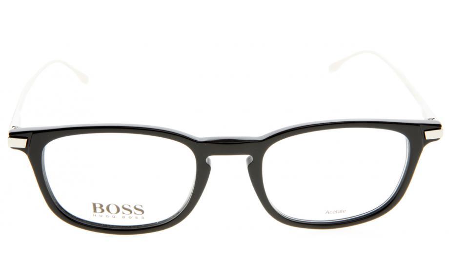Silver BOSS 0786 263 Optical frame Hugo Boss Acetate Black